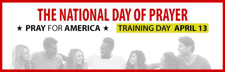 National Day of Prayer:  Training Day